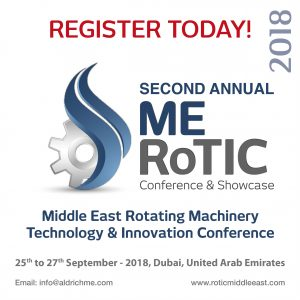 Middle East Rotating Machinery Technology & Innovation Conference 2018