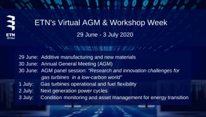 Virtual Annual General Meeting and Workshop Week 2020