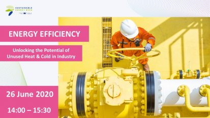 """EU Sustainable Energy Week session """"Energy Efficiency – Unlocking the Potential of Unused Heat & Cold in Industry"""""""
